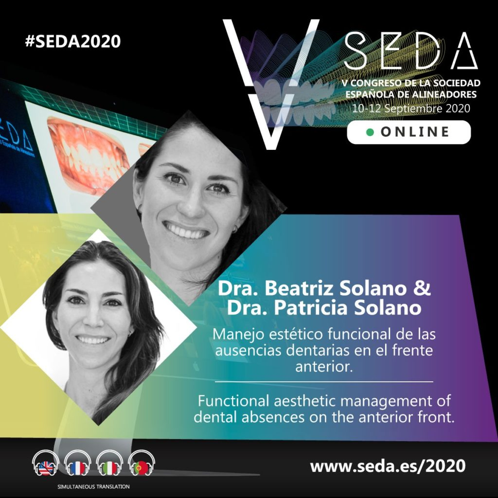 Dra Beatriz Solano y Dra Patricia Solano SEDA 2020